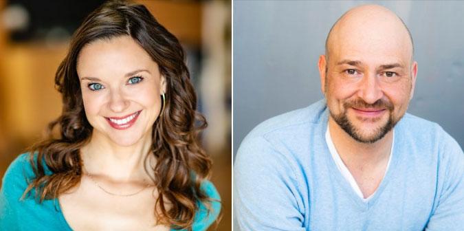 Melissa Morris and Sal Figliomeni